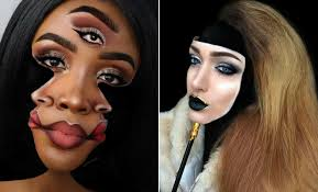 illusion makeup looks for