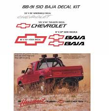 Buy Chevrolet S 10 S10 Baja Decals Sticker Decal 4x4 Chevy Pickup Chev Bowtie Motorcycle In The Gentle Island Canada For C 79 95