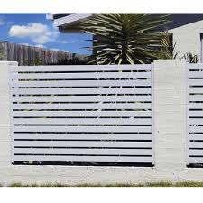Horizontal Slat Fencing Aluminum Easy To Install Stratco Usa