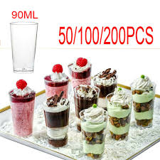 disposable canape dishes dessert cups