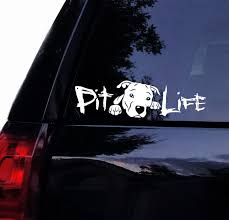 Pitbull Pit Life Pitty Face Decal Floppy Ear Pit Bull Etsy