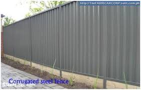 Corrugated Steel Fence Urmetal Fabricar Corp Philippines Construction Machinery Home Garden Toolsurmetal Fabricar Corp Philippines Construction Machinery Home Garden Tools
