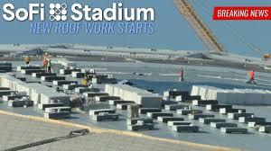 LA Rams Chargers SoFi Stadium New Roof ...