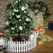 White Picket Fence Garden Fencing Lawn Edging Home Yard Christmas Tree Fence For Sale Online Ebay