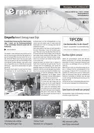 Erpse Krant 2017 Editie 08 By Erpse Krant Issuu