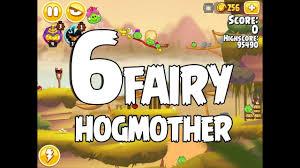 Angry Birds Seasons Fairy Hogmother Level 1-6 Walkthrough ...
