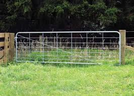 Galvanized Metal Garden Fence Gate 13 Feet Farm With Infilled Welded Wire Mesh For Sale Garden Fence Gate Manufacturer From China 109354088