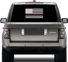 Thin Red Line Firefighter Vinyl Decal Igy6 I Got Your Six Etsy
