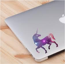 Amazon Com Cosmic Unicorn Skin Laptop Sticker Quote Laptop Decals Computer Vinyl Sticker 2 In A Pack Computers Accessories