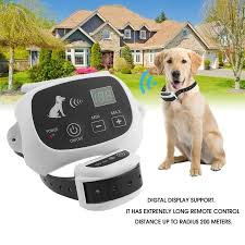 2 Dogs Electric Dog Fence System Wireless Invisible Dog Fence Guardian Electric Invisible Wireless Dog Fence Dog With Images Dog Fence Wireless Dog Fence Dogs