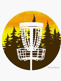 Disc Golf Stickers Redbubble
