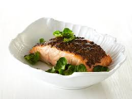 Roast Salmon with Whole-Grain-Mustard ...