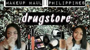 makeup haul philippines