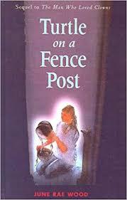 Turtle On A Fence Post Wood June Rae 9780613444248 Amazon Com Books