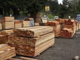 Cedar Fence Materials Mill Outlet Lumber
