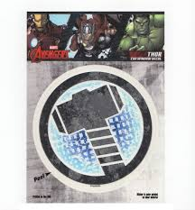 Thor Hammer Logo Marvel Comics Car Window Decal Sticker 689860700055 Ebay
