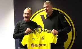Blow for Manchester United as transfer targer Erling Braut Haaland ...