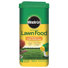 water soluble lawn fertilizer