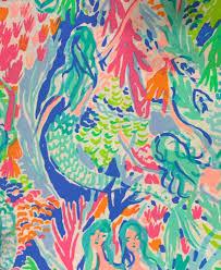 Lilly Pulitzer Fabric Doodlebug Daisy 1 ...