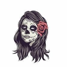 10 3cm 14 2cm Car Styling Sugar Rose Skull Motorcycle Decal Car Sticker 6 2392 Wish