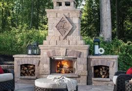 outdoor fireplaces backyard living