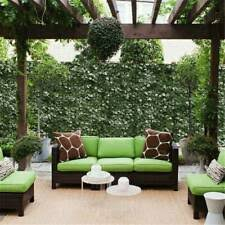 Leaf Privacy Fence Artificial Faux Ivy Screen Decoration Panels Windscreen Patio For Sale Online Ebay