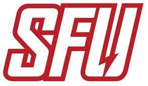 Ncaa0933 St Francis Red Flash Big Sfu Die Cut Vinyl Graphic Decal Sticker Ncaa