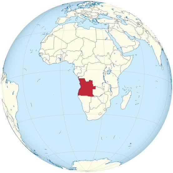 Resultado de imagen para angola globe map