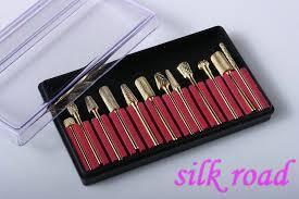 nail drill bits uses