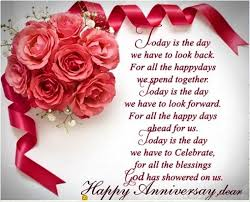 modern wedding anniversary quote for wife husband parent sister