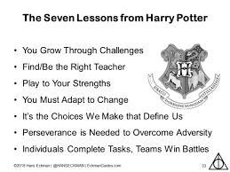 harry potter and the presentation of secrets leadership lessons
