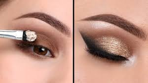 neutral smokey eye makeup tutorial