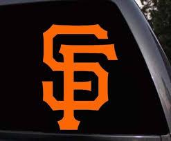San Francisco Giants Sf Giants Car Window Laptop Skin V
