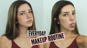 everyday summer makeup routine 2016