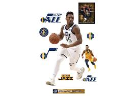 Donovan Mitchell Fathead Wall Decal Removable Wall Decals Wall Decals Donovan Mitchell