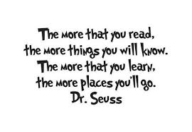 Dr Seuss The More That You Read Vinyl Wall Decal Etsy