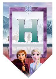 Frozen 2 Kit Cumpleanos Frozen 2 Invitacion Frozen 2 Banderines