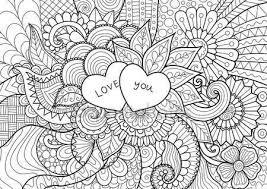Downloaden Twee Harten Op Bloemen Voor De Kleurplaat Boeken Voor
