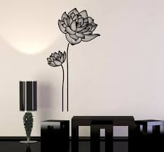 Vinyl Wall Decal Flowers Ornament Garden Decor Girls Room Stickers 970ig For Sale Online