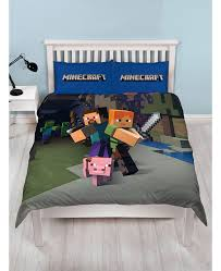 minecraft double duvet cover and