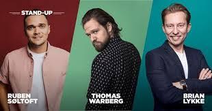 Drive-in Comedy - Ruben Søltoft, Thomas Warberg & Brian Lykke at Copenhagen  Drive-In Refn, Copenhagen
