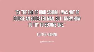 end of high school year quotes