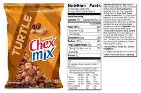 chex mix sweet and salty nutrition