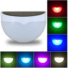 Outdoor Led Solar Lamp Color Changing Led Garden Fence Lights Outdoor Led Wall Light For Porch Patio Yard Garden Walkways Lot 10 Pieces Lot Specifications Price Quotation Ecvv Industrial Products