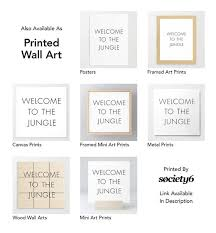 home entrance sign funny quotes welcome to the jungle