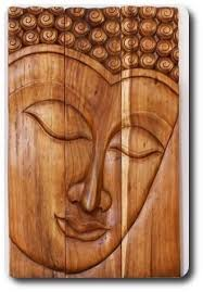 buddha wall art wood hanging decor