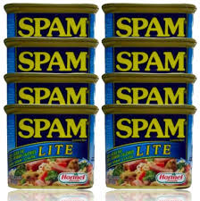 canned meat at best