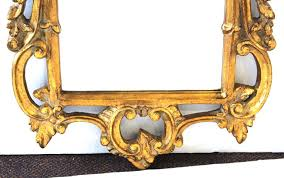 hollywood regency baroque style mirror