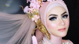 10 a makeup untuk pengantin hijab