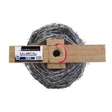 Eurosteel Iowa 2 5 75mm Soft Barbed Wire 25kg Bunnings Warehouse
